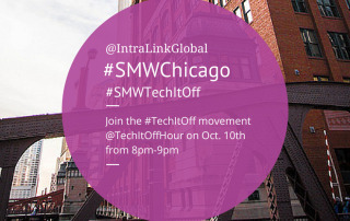 Join the #TechItOff movement @TechItOffHour on Oct. 10th, 2014 from 8-9pm.